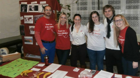 Students of Medicine prepared educational event about AIDS