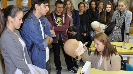 Little pupils spent an interesting day at the Faculty of Medicine UPJŠ