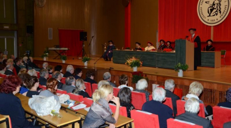 Golden graduation ceremony was held at UPJŠ MF
