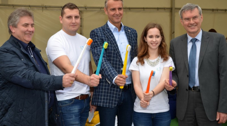 Roadshow of Dental Medicine students culminated in Košice