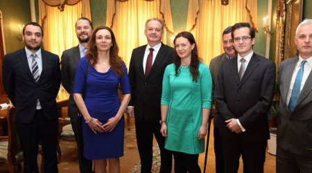 Student of the Faculty of Medicine, UPJS participated in a meeting with President Andrej Kiska