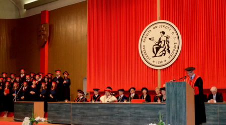 Graduation ceremony at the Faculty of Medicine