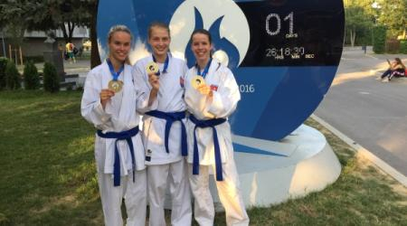 UPJŠ student received a gold medal at the European University Games