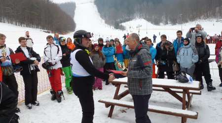 The 2nd year of the Race for the Dean´s Cup, FM UPJŠ  in alpine skiing was successful