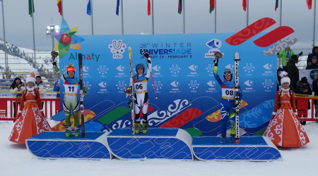 Our student scored at the World Winter Universiade