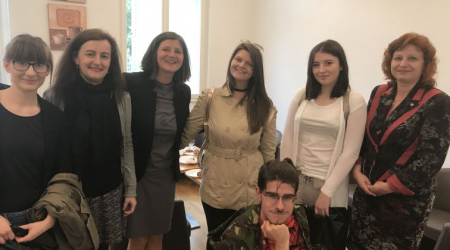 Meeting with BAS Erasmus+ students