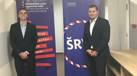 Students of the FM UPJŠ participated in the General Assembly of the Student Council