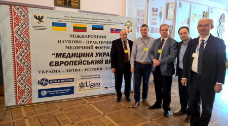Representatives of the Faculty of Medicine, UPJŠ represented Slovakia in Ukraine