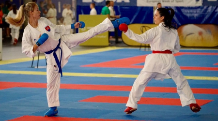 Our student scored at the European Academic Karate Championships
