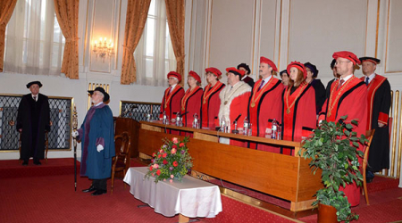UPJŠ in Košice awards an honorable title doctor honoris causa to the world-renowed personality in legal philosophy