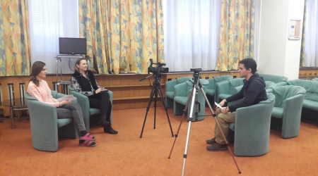 Film interviews with foreign students