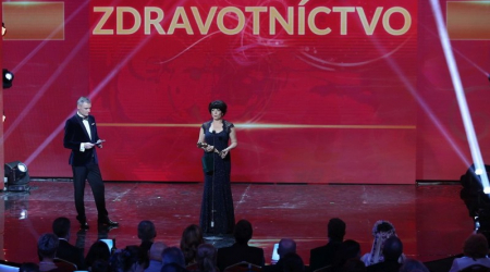 Associate professor Silvia Toporcerová became a Slovak Woman of the Year
