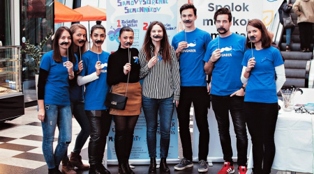 Students of the Faculty of Medcine, UPJŠ organized an extremely successful event MOVEMBER