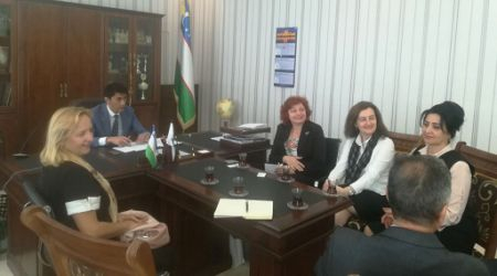 The cooperation of BAS Department FF UPJŠ with Uzbek medical universities continues within Erasmus+ programme