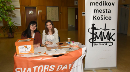 "Students of the Faculty of Medicine, UPJŠ organized the event ""NO ELEVATORS DAY"""