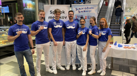 Students of the Faculty of Medicine, UPJŠ organized the fifth year of successful event MOVEMBER
